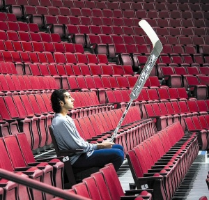 A much simpler time, when Luongo was king. Photo taken from canucksarmy.com