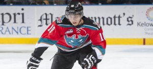 Rookie sensation Nick Merkley @merkdaddy4 Photo courtesy of CHL.CA