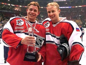 Pavel Bure was an All Star all the time. Photo courtesy of russkiyhockey.wordpress.com
